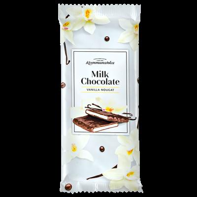 шоколад Коммунарка Молочный VANILLA NOUGAT 85 г 1 уп.х 20 шт.