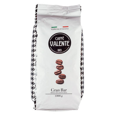 кофе VALENTE GRAN BAR 1 кг зерно 1 уп.х 12 шт.