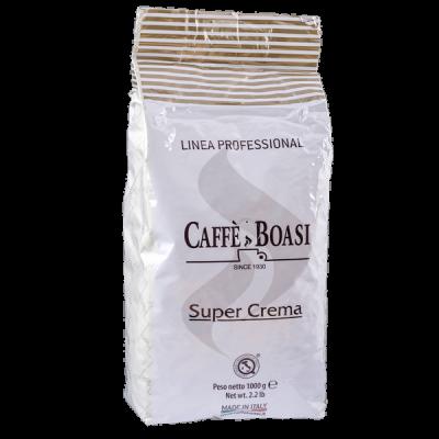 кофе BOASI SUPER CREMA PROFESSIONAL 1 кг 1 уп.х 6 шт.