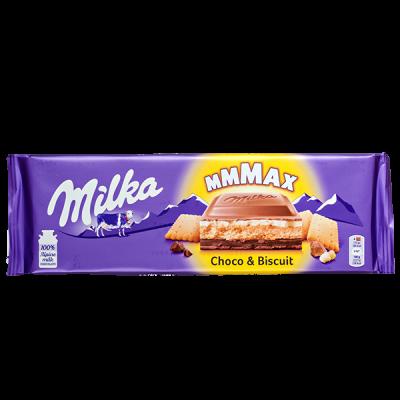 шоколад Милка Choco & Biscuit 300 г 1 уп.х 12 шт.