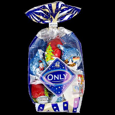 шоколад НГ ONLY Рождественские елочные украшения 100 г 1 уп.х 24 шт.