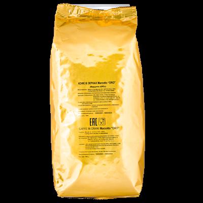 кофе MARZOTTO ORO 1 кг зерно 1 уп.х 9 шт.