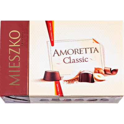 конфеты MIESZKO AMORETTA CLASSIC 139 г 1 уп.х 13 шт.