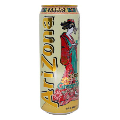 напиток ARIZONA Diet Green tea 680 мл  Ж/Б 1 уп.х 24 шт.