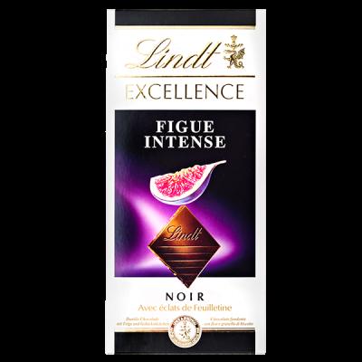 шоколад LINDT EXCELLENCE FIGUE INTENSE 100 г 1уп.х 20шт.