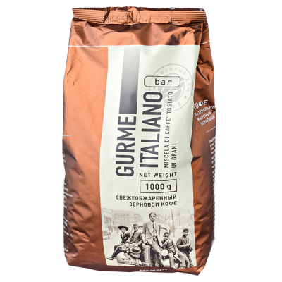 кофе GURME ITALIANO BAR 1 кг зерно