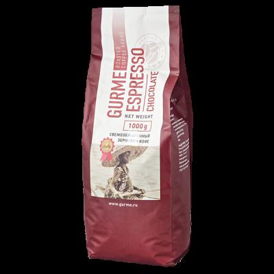 кофе GURME ESPRESSO CHOCOLATE 1 кг зерно
