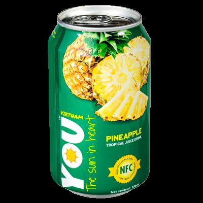 напиток YOU VIETNAM Pineapple 330 мл  Ж/Б 1 уп.х 24 шт.