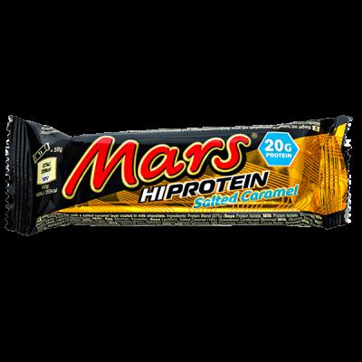 Батончик MARS HI PROTEIN Salted Caramel 59 г 1 уп.х 12 шт.
