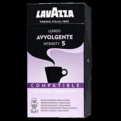 кофе капсулы LAVAZZA Lungo Avvolgente 1уп х 10 капсул