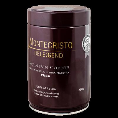 кофе MONTECRISTO DELEGGEND 250 г ж/б молотый