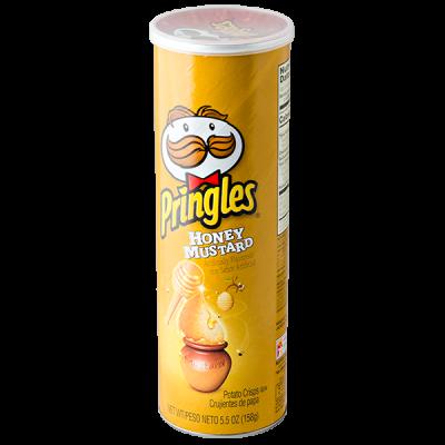 чипсы PRINGLES Honey mustard 158 г 1 уп. х 14 шт.