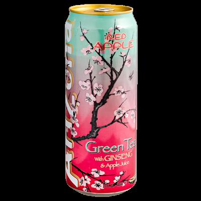 напиток ARIZONA Green Tea with Ginseng & Apple Juice 680 мл  Ж/Б 1 уп.х 24 шт.