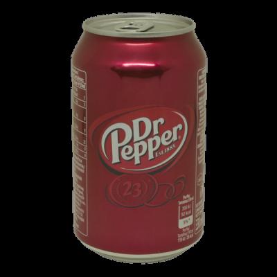 Напиток Dr Pepper классик 330 мл ж/б 1 уп.х 24 шт.