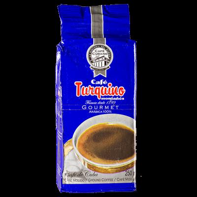 кофе TURQUINO 250 г молотый 1 уп.х 20 шт. или 1 уп.х 48 шт.