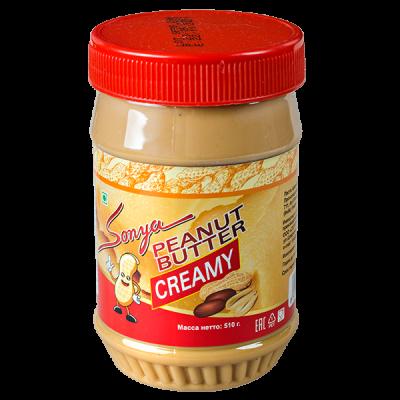 арахисовая паста Sonya PEANUT BUTTER CREAMY 510 г 1 уп.х 12 шт.