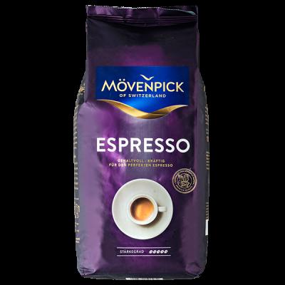 кофе MOVENPICK ESPRESSO 1 кг зерно 1 уп.х 8 шт.