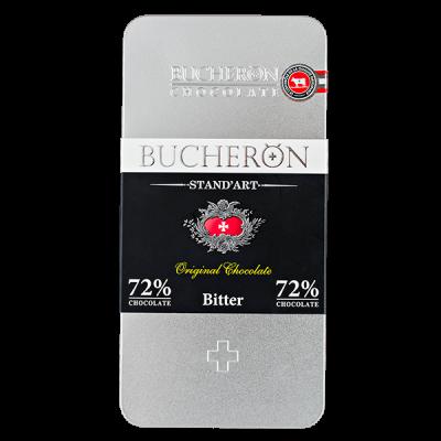 шоколад BUCHERON ж/б 72% Горький 100 г 1уп.х 10 шт.