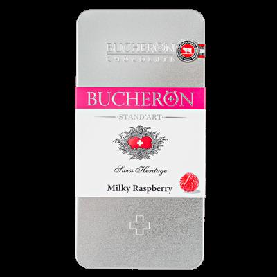 шоколад BUCHERON ж/б Молочный с Малиной 100 г 1уп.х 10 шт.