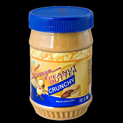 арахисовая паста Sonya PEANUT BUTTER CRUNCHY 510 г 1 уп.х 12 шт.