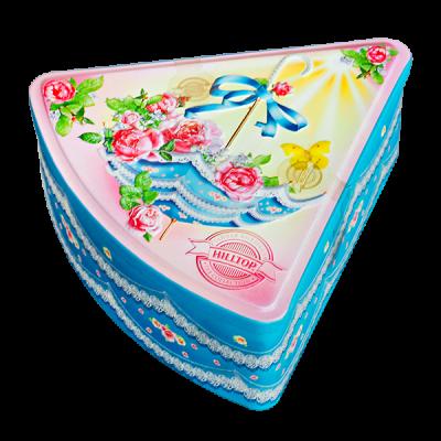 чай HILLTOP подарочный футляр 'Солнечный зонтик' ж/б 100 г 1 уп. х 12 шт.